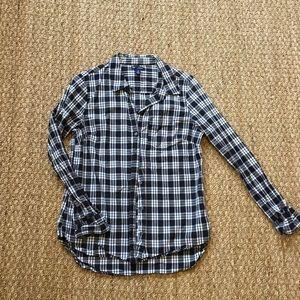 Gap plaid flannel